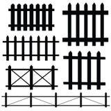 Omheinings vectorillustratie Royalty-vrije Stock Afbeeldingen