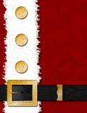Omhoog Dichte de Laag van de kerstman royalty-vrije illustratie