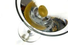 Omhoog dichte martini Stock Fotografie