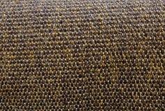 Omhoog gesloten van Vierkante Textuur van het Patroon van het Mandweefsel Stock Fotografie