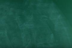 Omhoog sluit het school groene bord, stock afbeeldingen