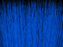 Omhoog sluiten de vezel optische kabels het 3D teruggeven van vezel optische kabels Stock Afbeelding