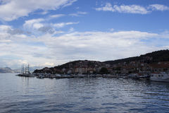 OmiÅ ¡, Chorwacja Zdjęcie Royalty Free