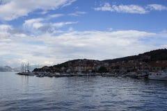 OmiÅ ¡, Kroatien Royaltyfri Foto