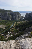 Omiš Canyons Royalty Free Stock Image