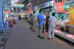 Omicho market Kanazawa Japan Stock Photography