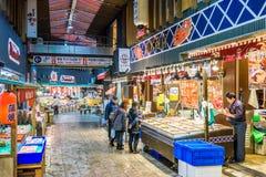 Omicho Market in Kanazawa, Japan Stock Photos