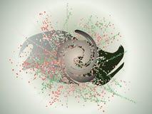 Omicidio astratto Fotografie Stock Libere da Diritti