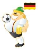 μασκότ της Γερμανίας ποδ&omicr Στοκ Φωτογραφία