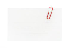 λευκό μονοπατιών εγγράφ&omicro Στοκ Φωτογραφίες