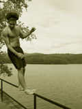 οπίσθιος μειωμένος έφηβ&omicron στοκ φωτογραφίες με δικαίωμα ελεύθερης χρήσης