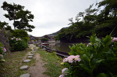 OMIHACHIMAN`S RIVER stock photos