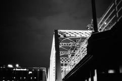 Ominöse Brücke Stockbilder
