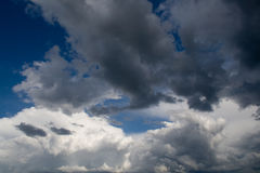 Ominous Clouds Stock Photo