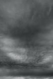 Ominous storm clouds as if armageddon. Royalty Free Stock Photo