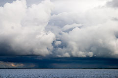 Ominous storm clouds Stock Images