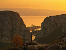 Omis克罗地亚达尔马提亚3 免版税库存图片