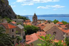 Omis, Κροατία Στοκ Εικόνες