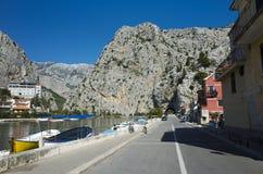 omis Хорватии Стоковые Изображения RF