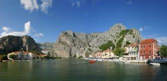 Omis Croatia Foto de archivo libre de regalías