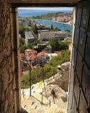 Omis, Croatia fotografie stock libere da diritti