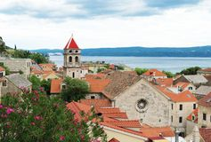 Omis in Croatia. royalty free stock photography