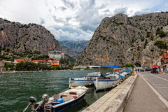 Omis, Croatia Stock Photos
