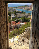 Omis, Croatia royalty free stock photos