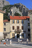 Omis, Croatia. Small Central Dalmatian town Stock Images