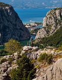 Omis, Croatie Photo stock