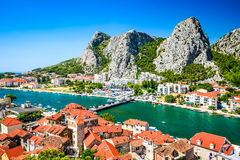 Omis, Dalmatia, Croatia Stock Photography