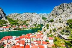 Omis, Dalmatia, Croatia Stock Images