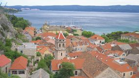 Omis i Kroatien arkivfilmer