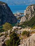 Omis, Kroatië Stock Foto