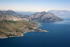 Omis la Riviera, Croatie Photo libre de droits