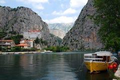 Omis in croatia royalty free stock images