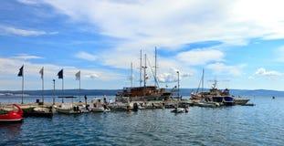 Omis marina in Dalmatia Royalty Free Stock Photos