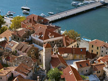 Omis (old town) 2 royalty free stock photos