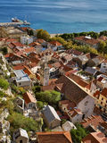 Omis (old town) Stock Photography