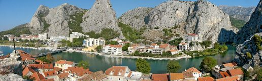 Omis panorama Royalty Free Stock Photography