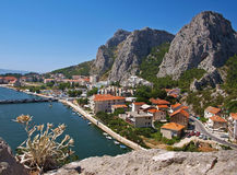 Omis - Priko Royalty Free Stock Image