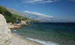 Omis - riviera Royalty Free Stock Images