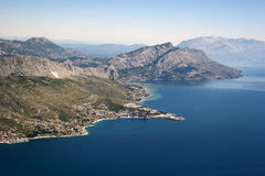 Omis riviera, Croatia Royalty Free Stock Photo