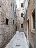 Omis street view Royalty Free Stock Image