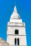 Omisalj, torre de sino Fotos de Stock Royalty Free