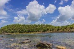 Omkareshwar - Narmada River Royalty Free Stock Photo