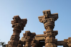 Omkareshwar sacred island. Siddhnath Baradwari Siddheshwar Temple, an ancient monument, Omkareshwar, Madhya Pradesh, India stock photos