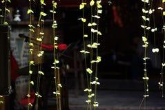 Omkeerbare lichte installatie Royalty-vrije Stock Foto's