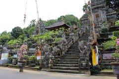 Omkring en av de hinduiska templen för mest härlig Balinese, Pura Ke Royaltyfri Fotografi