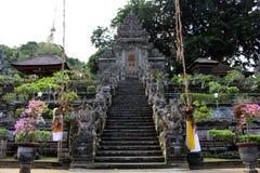 Omkring en av de hinduiska templen för mest härlig Balinese, Pura Ke Arkivfoto